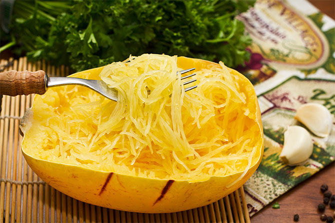 baked spaghetti squash